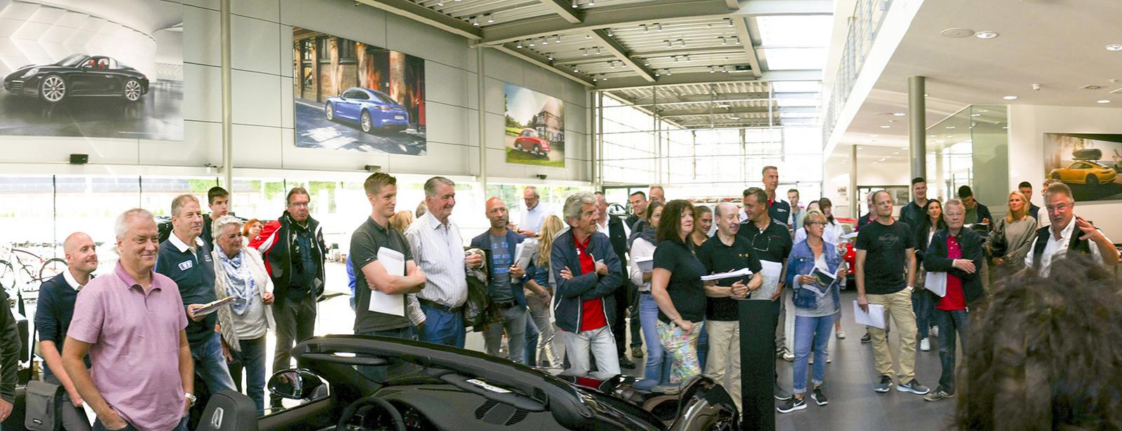 Sportliche ausfahrt wps pcs teil 1 im porsche for Porsche zentrum boblingen